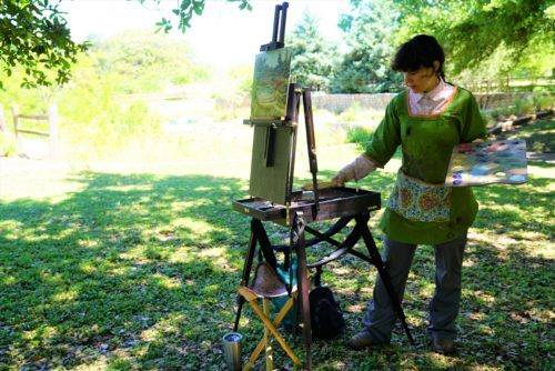 Another fun painting demo tomorrow 10-12. Join the Austin Palette Club as a guest for free!